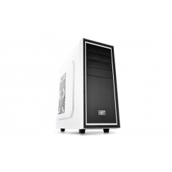 Case DeepCool TESSERACT BF White