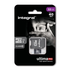 Micro SD Integral 8GB UltimaPro