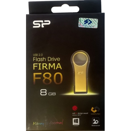 USB 2.0 Flash Drive Frima F80 Gold - 64GB با جعبه