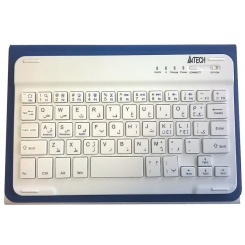 Keyboard X-Slim Bluethooth  BTK-01  white