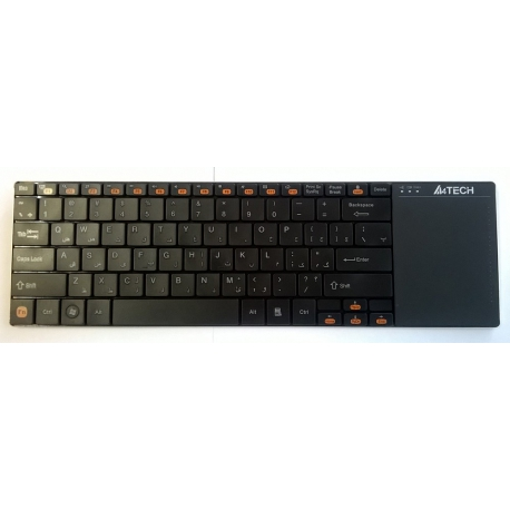 A4tech GK-05 Wireless With Touchpad Keyboard - Black