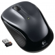 Logitech M325 Wireless Mouse - Drak Silver