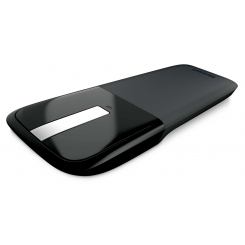 Microsoft  Arc Touch  Black Mouse   RVF-00004