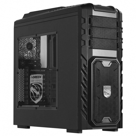 Case Gaming Green X3 Plus Viper v2