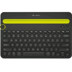Logitech Bluetooth Multi-Device Keyboard K480 Black