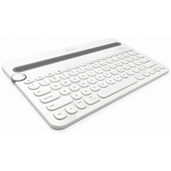 Logitech K480 Bluetooth Multi-Device Keyboard - White