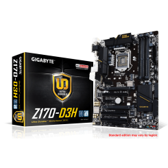 Motherboard GIGABYTE Ultra Durable Series GA-Z170-D3H Intel 1151
