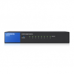 Linksys LGS108 8-Port Desktop Gigabit
