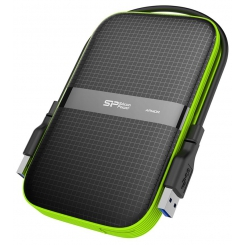 Silicon Power Armor A60 External Hard Drive - 2TB