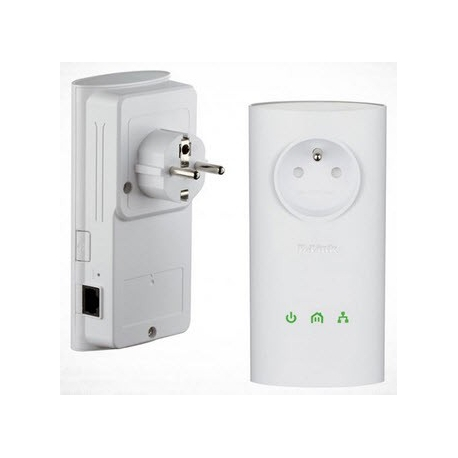 D-Link DHP-P307AV PowerLine AV PassThrough Starter Kit