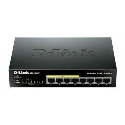 D-Link DGS-1008P 8-Port Gigabit PoE Unmanaged Switch