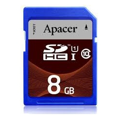 Apacer Memory Card SDHC UHS-I Class 10 - 8GB