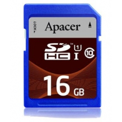 Apacer Memory Card SDHC UHS-I Class 10 - 16GB