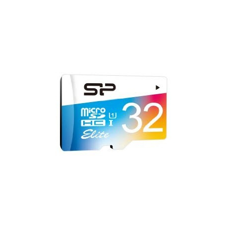 Silicon Power Elite Color microSDHC - 32GB
