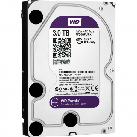 Hard Disk Western Digital Purple 3TB
