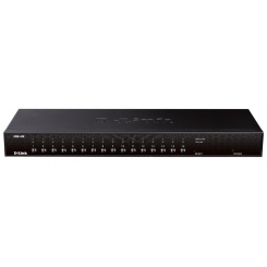 D-Link KVM-450 16-Port PS2/USB Combo KVM Switch