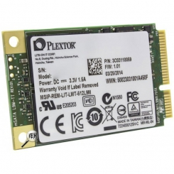 HDD Laptop 256GB Msata SSD(Read 520*Write 440) Plextor