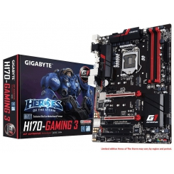 Motherboard GIGABYTE Gaming Series GA-H170-Gaming 3 Intel 1151
