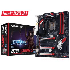 Motherboard GIGABYTE Gaming Series GA-Z170X-Gaming 5 Intel 1151