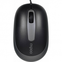 Rapoo N3200 USB Wired Mouse Black