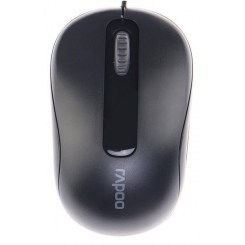 Rapoo N1190 Wired Mouse Black