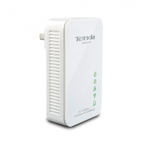 گسترش دهنده اینترنت PW201A تندا Tenda PW201A Wireless N300 Powerline Extender