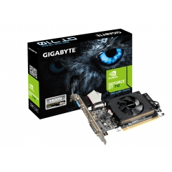 کارت گرافیک 1 گیگ GT 710 گیگابایت GigaByte GV-N710D3-1GL Graphics GeForce GT 710 1GB DDR3
