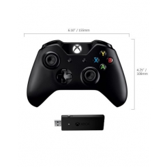 MS Xbox One Controller + Wireless Adapter for Windows 10 NG6-00003