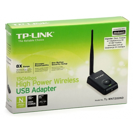 TP-LINK TL-WN7200ND Wireless USB Adapter