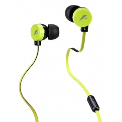 F&D E220 In-ear-headphone (Green Black)