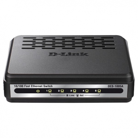 SWITCH 5 PORT DES-1005A D-Link