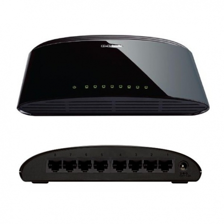 SWITCH 8 PORT DES-1008D D-Link