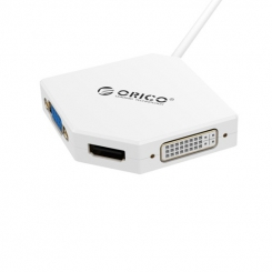 تبدیل Mini Display Port به VGA-HDMI-DVI اوریکو ORICO DMP-HDV3