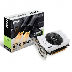 MSI GeForce GTX 950 2GD5 OCV1 2GB 128-Bit GDDR5 PCI Express 3.0 x16