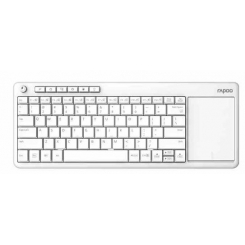 Rapoo K2600 Wireless Touchpad Keyboard - White
