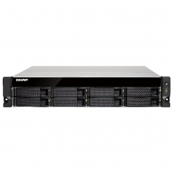 Qnap TS-863U-RP - Quad-core 64-bit AMD 2.0GHz - 4GB - NAS - Diskless