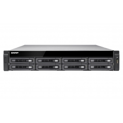 Qnap TS-EC880U R2 - Intel® Xeon E3-1246 v3 Quad-core - 4GB - NAS - Diskless