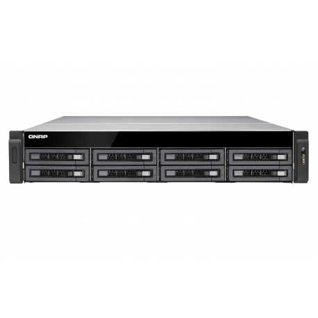 هارد تحت شبکه TS-EC880U R2 کیونپ Qnap TS-EC880U R2 - Intel® Xeon E3-1246 v3 Quad-core - 4GB - NAS - Diskless
