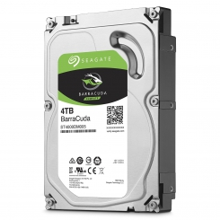 "Seagate BarraCuda ST4000DM004 64MB Cache SATA 6.0Gb/s 3.5"" - 4TB"