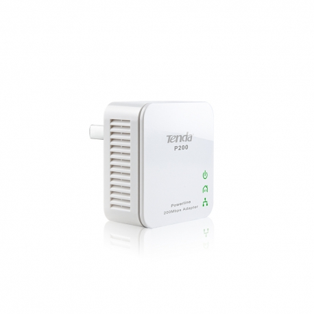 آداپتور پاورلاین P200 تندا Tenda P200 200Mbps PowerLine Mini Adapter