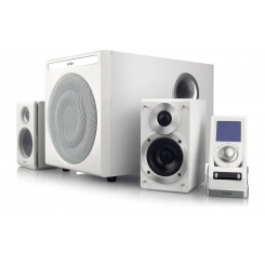 اسپیکر S530D سفید 2.1 کاناله ادی فایر Edifier International High-end 2.1 Digital Speaker System S530D 145W