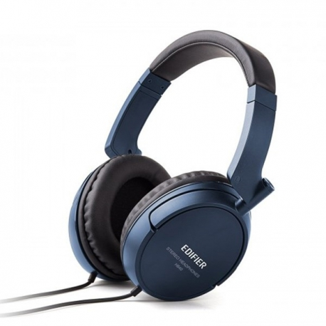 هدفون با سیم H840 ادیفایر Edifier Headphone H840 Over-the-ear Hi-Fi Stereo - Blue