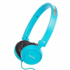 هدفون با سیم H650 ادیفایر Edifier Headphone H650 Over-the-ear Hi-Fi Stereo Headphone - Blue