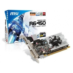 MSI Graphics Card R6450-MD1GD3/LP- 1024 MB DDR3 64bit PCI Express 2.0 x 16