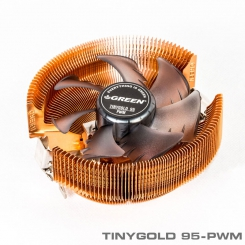 Green TinyGold-95 PWM CPU Cooler