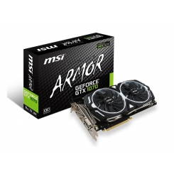 MSI GeForce GTX 1070 ARMOR 8G Graphics Card