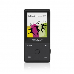 ام پی تری پلیر آی بیت موو بی تی ترکستور TrekStor Mp3 Player i.Beat Move BT - Black