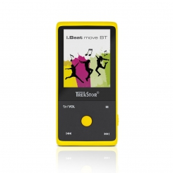 ام پی تری پلیر آی بیت موو بی تی ترکستور TrekStor Mp3 Player i.Beat Move BT - Yellow