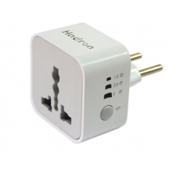 Hadron P101 Surge Protector And Adaptor-white