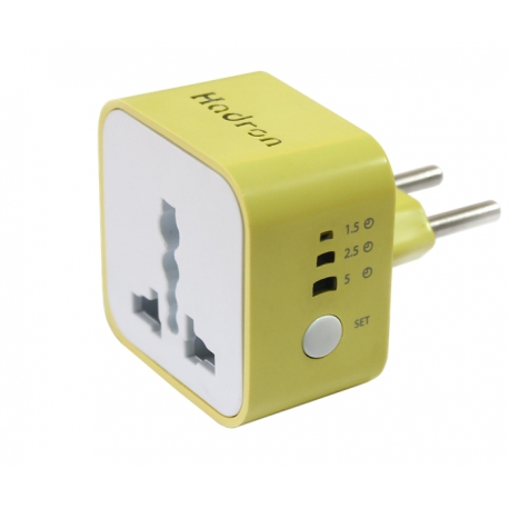 Hadron P101 Surge Protector And Adaptor-Yellow